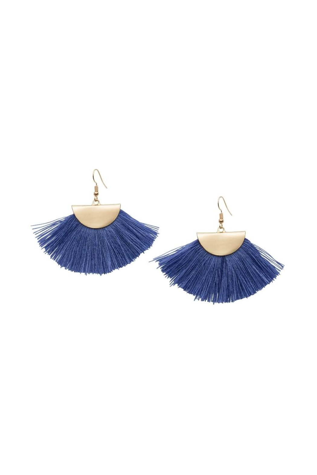 Occasionally Made Fanned Out Earring - Front Cropped Image