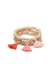 Occasionally Made Ombre-Tassle Trio Bracelets - Product Mini Image