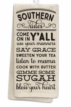 Occasionally Made Beige Southern Kitchen Towel - Alternate List Image