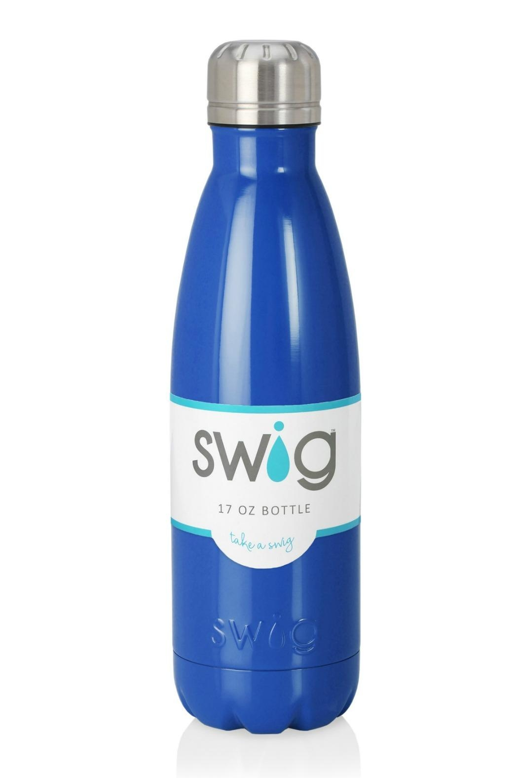Occasionally Made Swig 17oz Bottle - Front Cropped Image