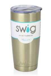 Occasionally Made Swig 20oz Tumbler - Front cropped