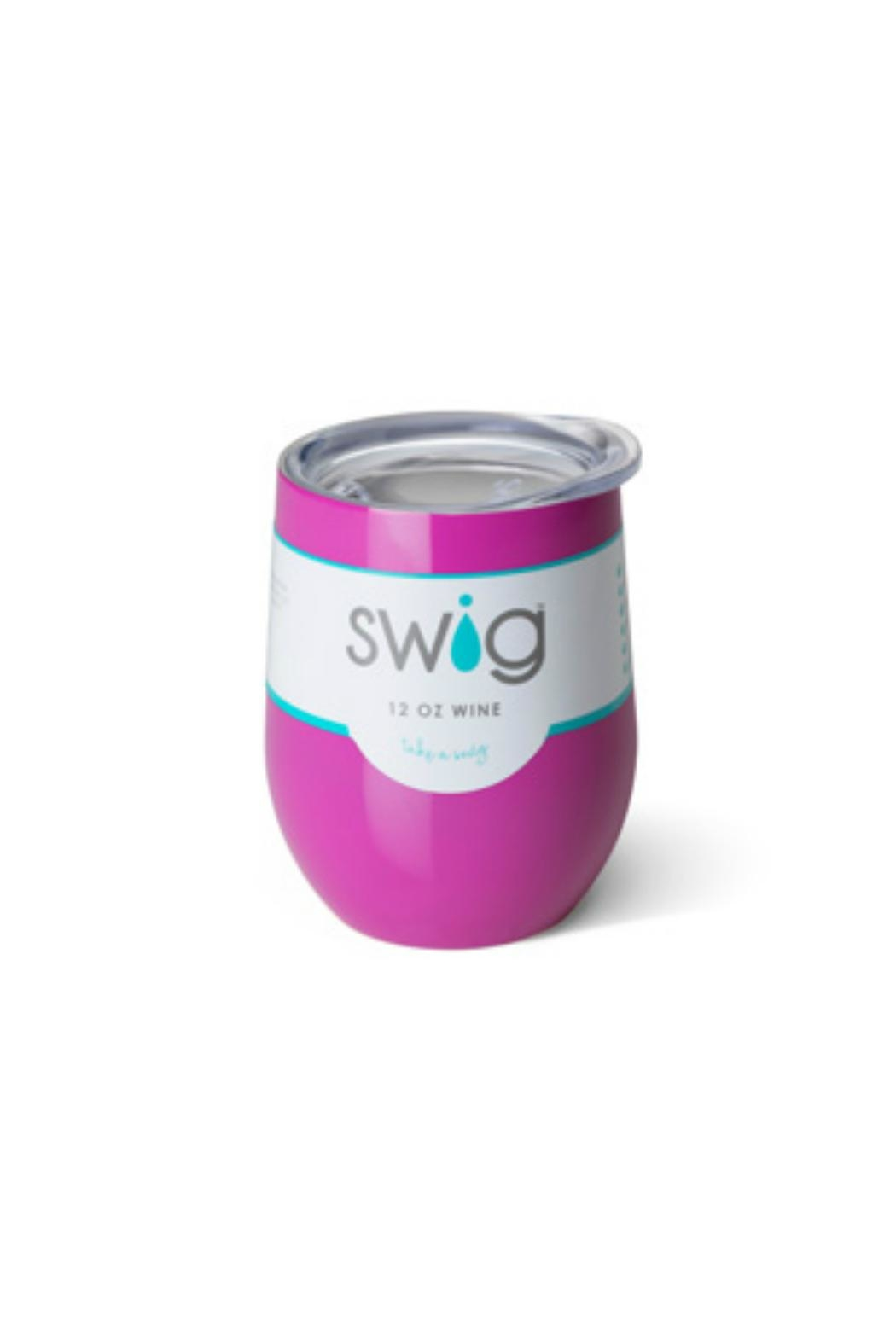 Occasionally Made Swig Stemless Wine - Front Cropped Image