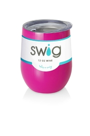 Occasionally Made Swig Stemless Wine - Front cropped