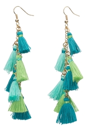 Occasionally Made Tiny Tassel Earrings - Product Mini Image