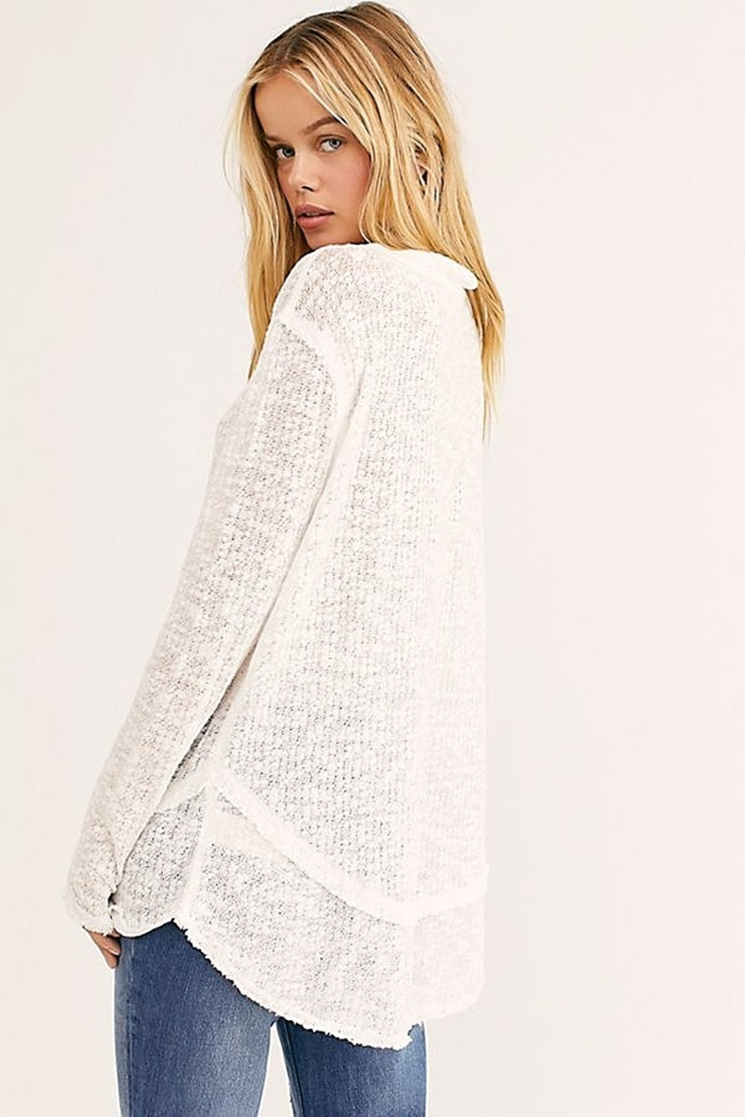 Free People Ocean Air Hacci - Back Cropped Image