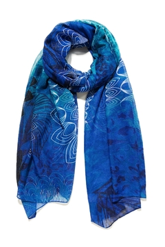 DESIGUAL Ocean Blues Scarf - Product List Image