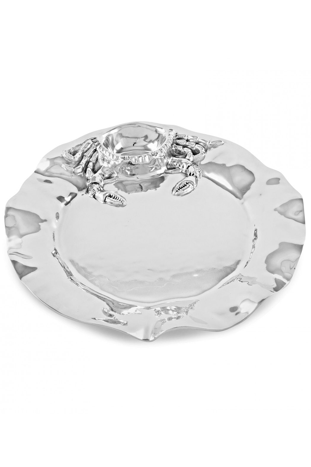 Beatriz Ball  Ocean Crab Platter  7163 - Front Cropped Image