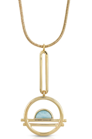 Glamrocks Jewelry Ocean Drive Necklace - Product Mini Image