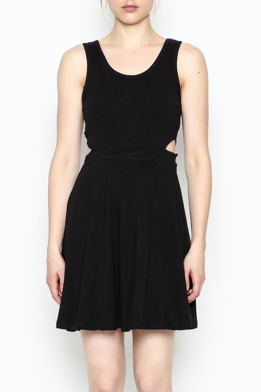 Ocean Drive Skater Dress - Front Cropped Image