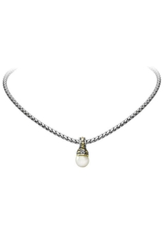 JOHN MEDEIROS Ocean-Images-Collection Pearl-Slider With-Chain-Necklace - Alternate List Image