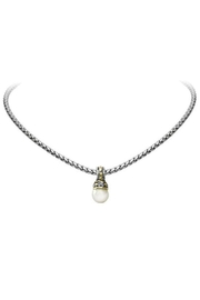 JOHN MEDEIROS Ocean-Images-Collection Pearl-Slider With-Chain-Necklace - Product Mini Image