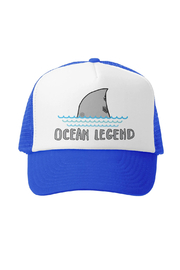 Grom Squad Ocean Legend Trucker Hat - Front cropped