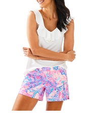 Lilly Pulitzer Ocean View Boardshort - Front cropped