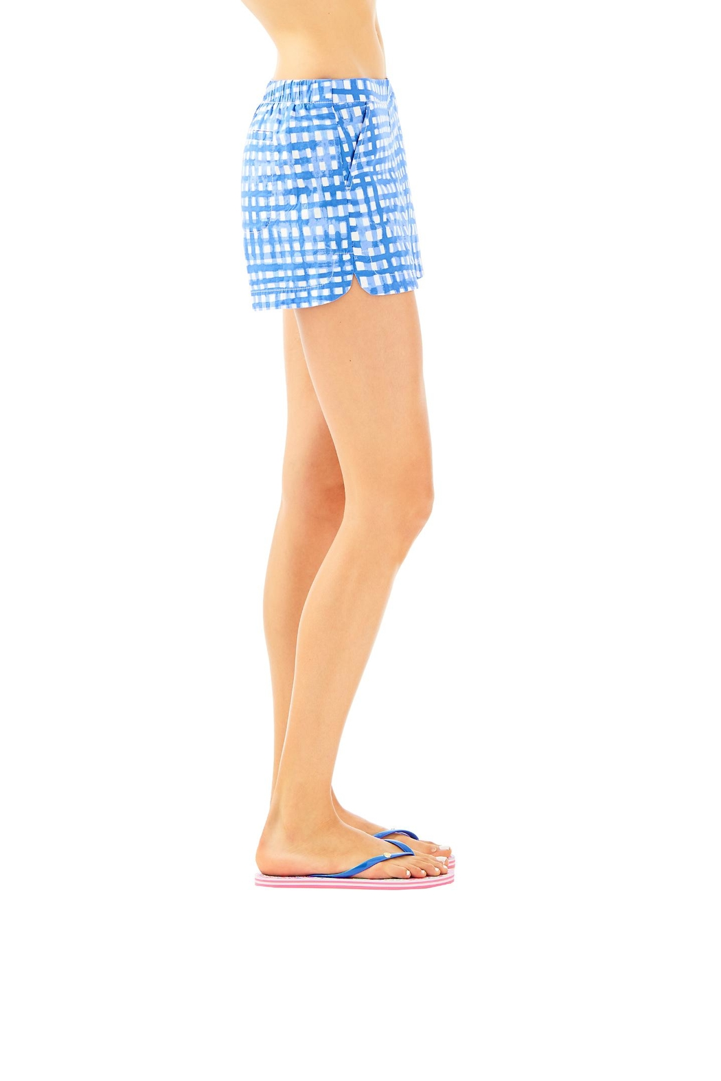 Lilly Pulitzer Ocean View Boardshort - Side Cropped Image