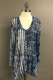 Michael Tyler Collections Ocean Waves Top - Front cropped