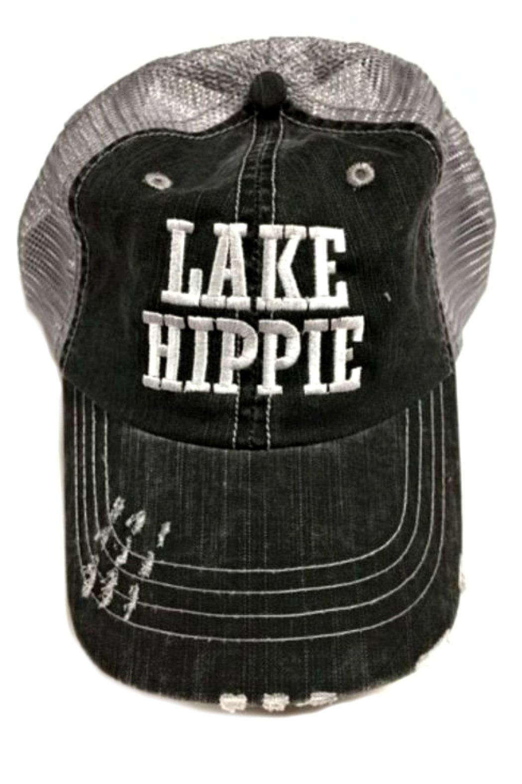OCEAN & 7TH Lake Hippee Cap - Front Cropped Image