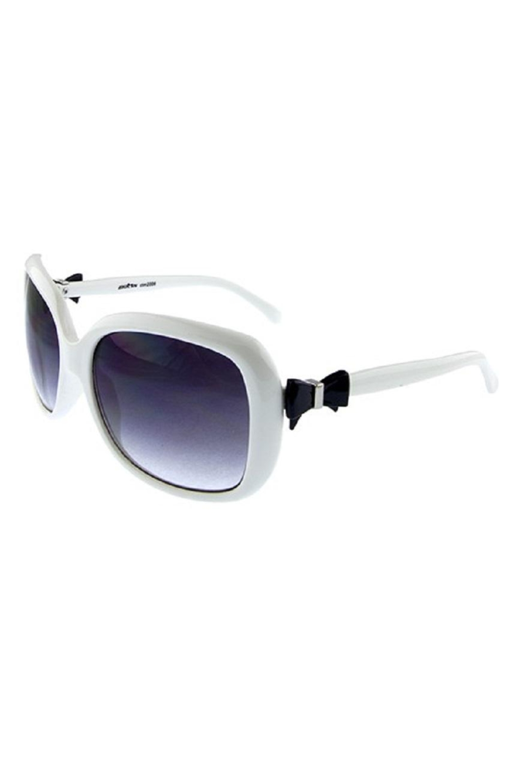 Ocean and Land Bow-Tie Sunglasses - Main Image