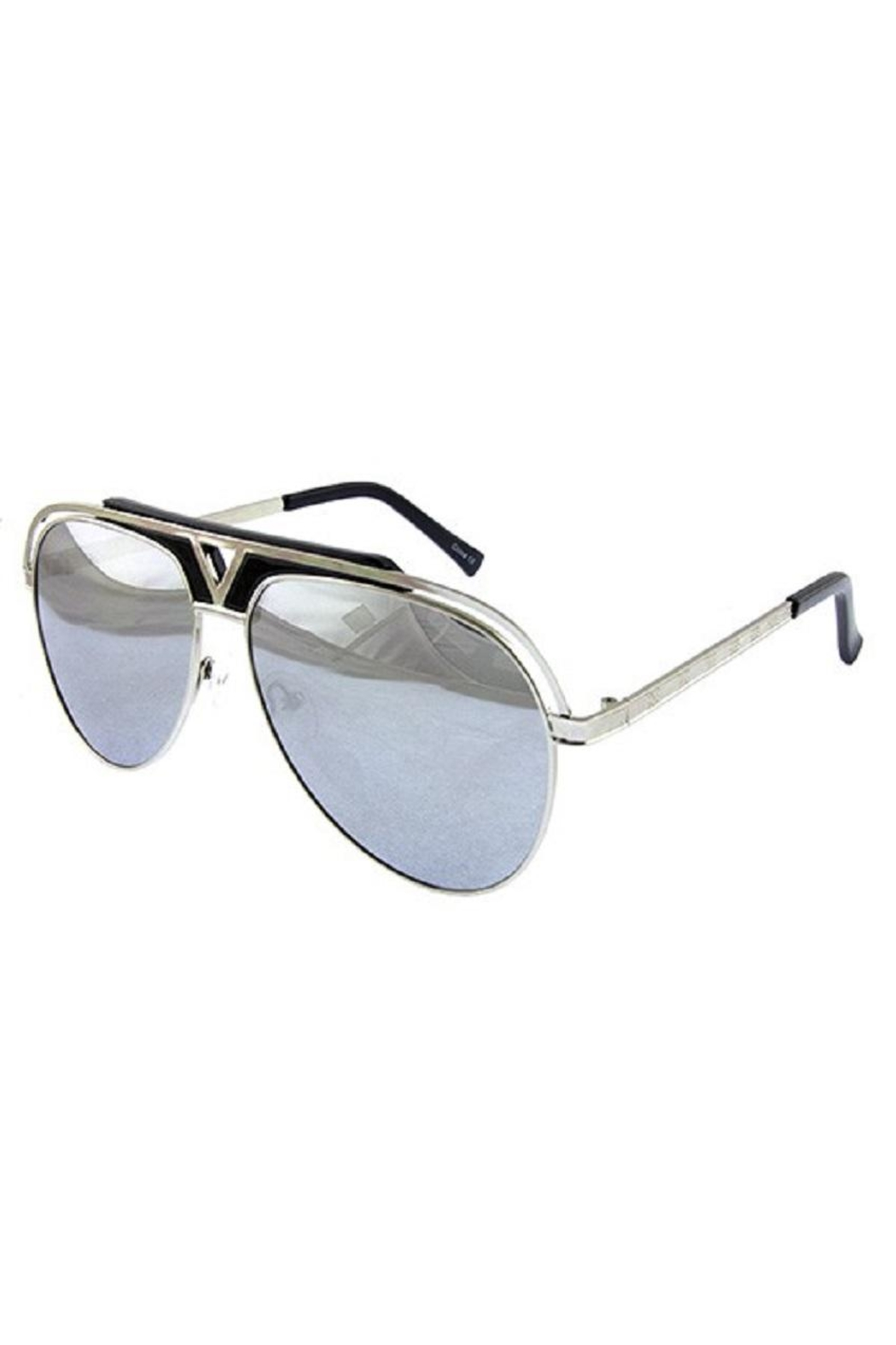 Ocean and Land Glamour Aviator Sunglasses - Main Image