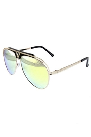 Ocean and Land Glamour Aviator Sunglasses - Front cropped
