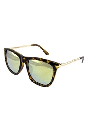 Ocean and Land Metal Bamboo Sunglasses - Front cropped