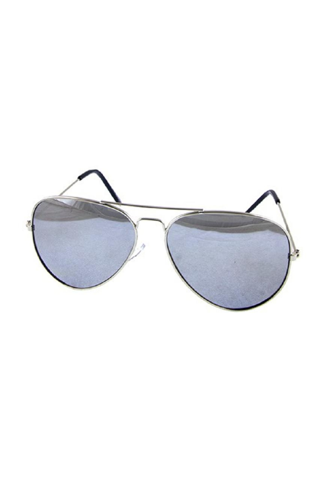 Ocean and Land Mirror Aviator Sunglasses - Front Full Image