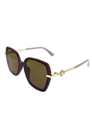 Ocean and Land Pearl Flower Sunglasses - Front cropped