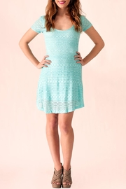 Ocean Drive Crochet Tie Dress - Product Mini Image
