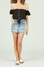 Ocean Drive Ella Denim Skirt - Product Mini Image