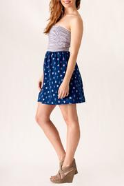 Ocean Drive Nautical Print Dress - Side cropped