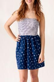 Ocean Drive Nautical Print Dress - Product Mini Image