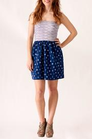 Ocean Drive Nautical Print Dress - Front cropped