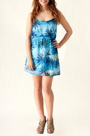 Ocean Drive Palm Tree Dress - Front cropped