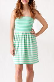 Ocean Drive Striped Tube Dress - Product Mini Image