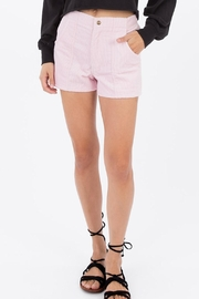 Ocean Pacific Pink Corduroy Shorts - Product Mini Image