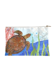 Sally Eckman Roberts Oceana Turtle Pouch - Product Mini Image