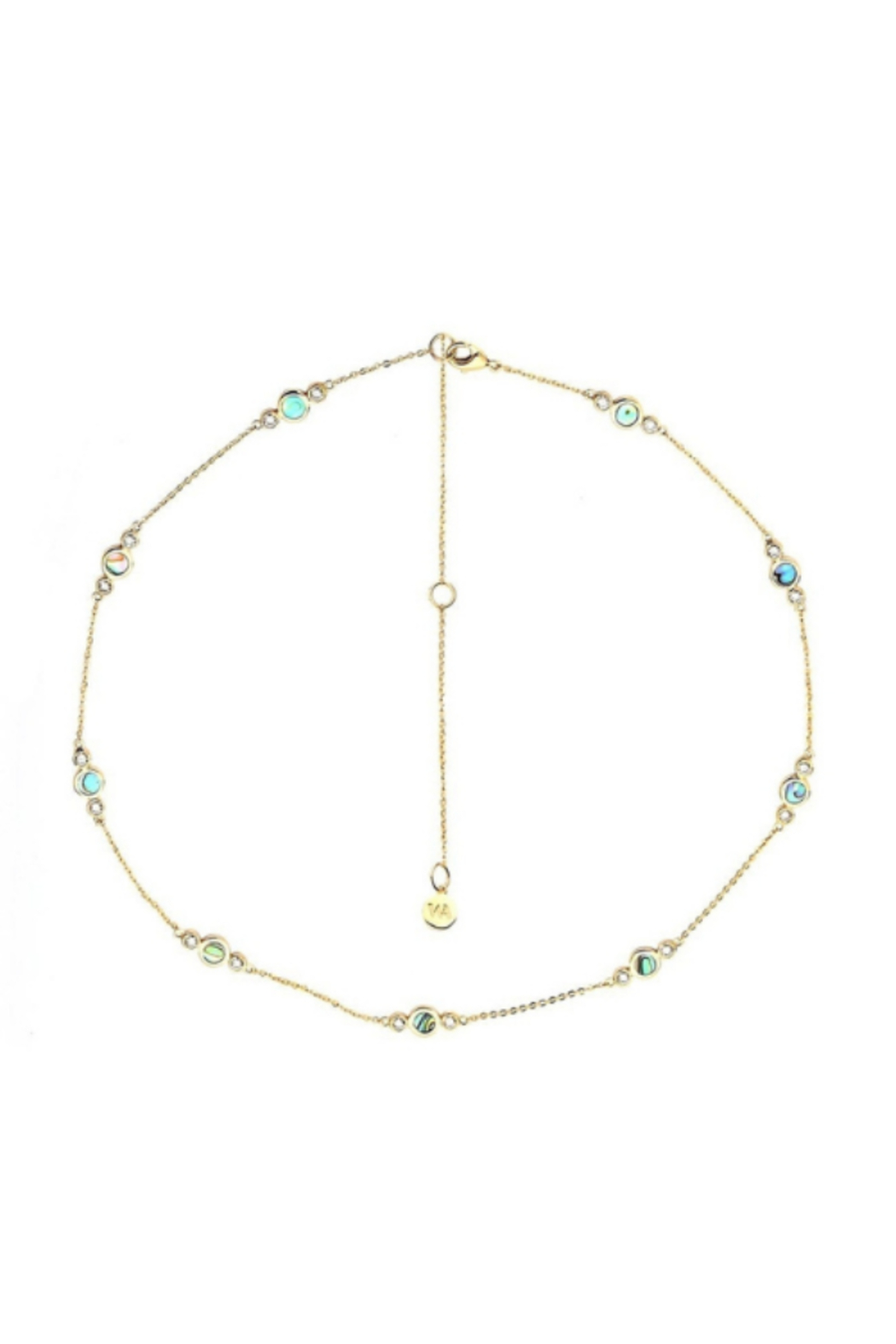 Washed Ashore Oceania Necklace in Gold - Main Image