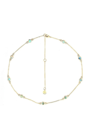 Washed Ashore Oceania Necklace in Gold - Product Mini Image