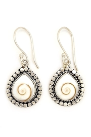 Oceania Maui Cat's Eye Earrings - Front cropped