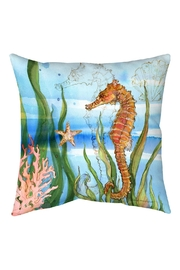 Sally Eckman Roberts Oceanreef Seahorse Pillow - Product Mini Image