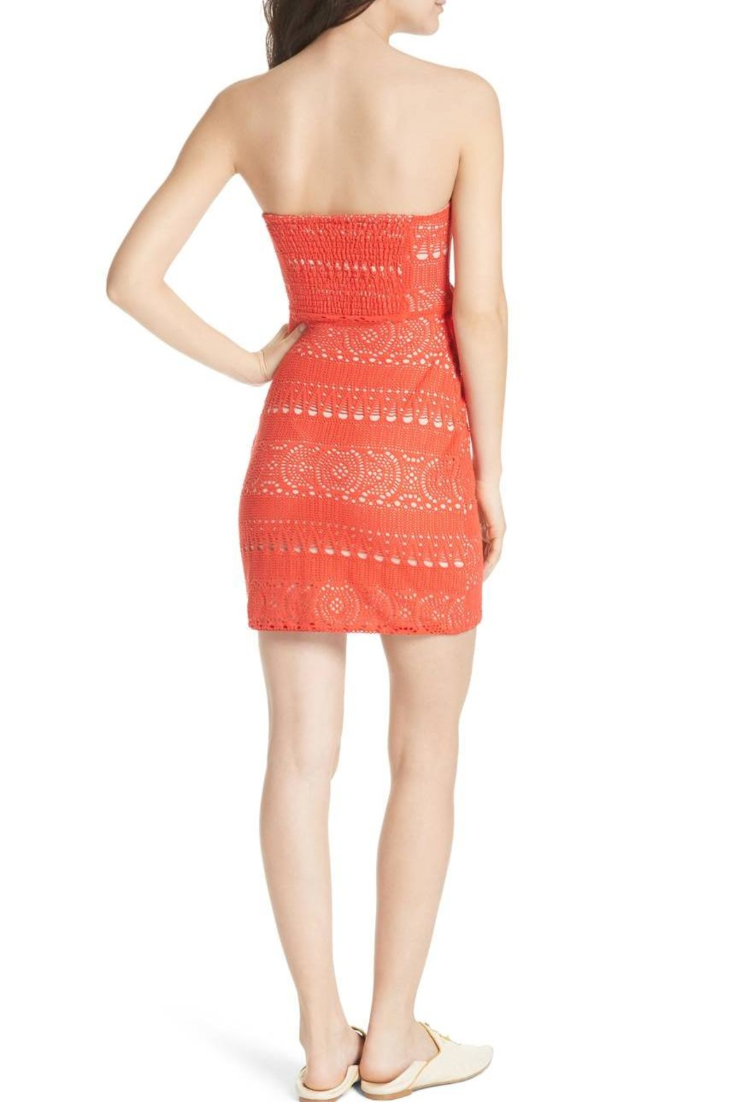 Free People Oceanside Crochet Strapless - Side Cropped Image