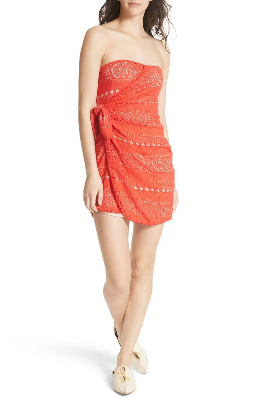 Free People Oceanside Crochet Strapless - Main Image