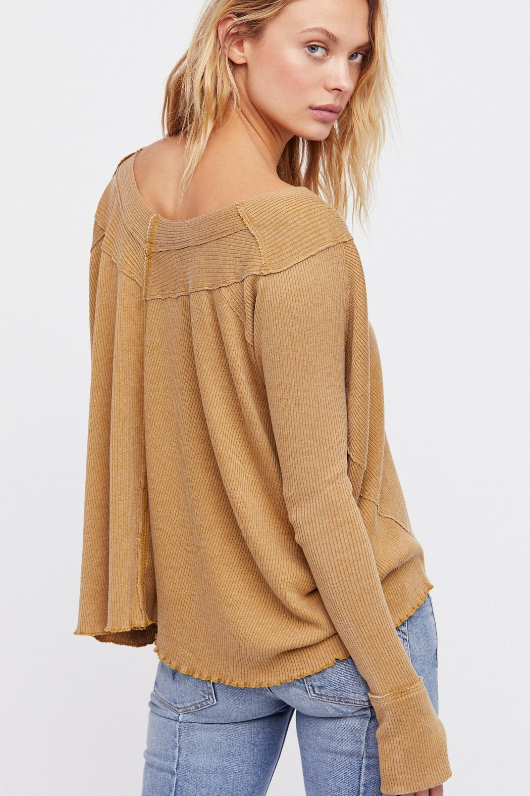 Free People Oceanview Top - Front Full Image