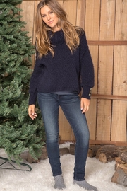 Wooden Ships OCTAVIA BUTTON T-NECK - Side cropped