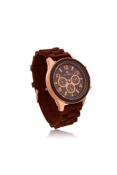 Shoptiques Product: Chocolate Rose Watch