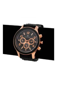 Shoptiques Product: Onyx Rose Watch