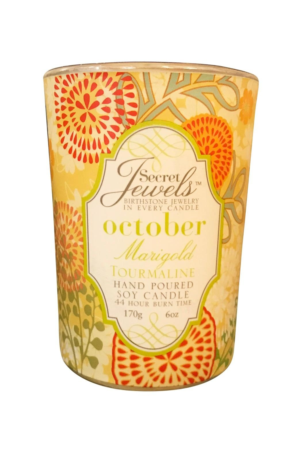 Giftcraft Inc.  October Birthday Candle - Main Image