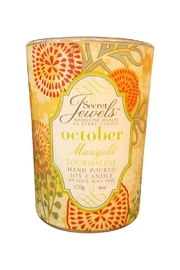 Giftcraft Inc.  October Birthday Candle - Front cropped