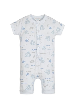 Feather Baby Octopi Henley Romper - Product List Image