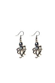 Love's Hangover Creations Octopus Earrings - Front cropped