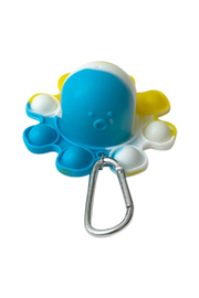 Bari Lynn Octopus In N Out Keychain Poppers - Front cropped